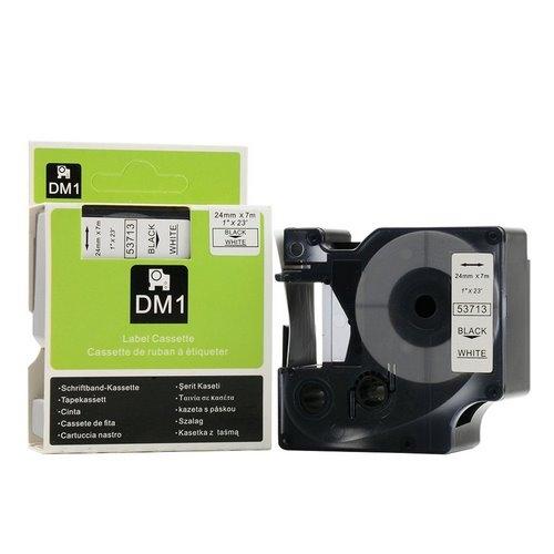 DM-53713 BLACK ON WHITE 24MM X 7MET